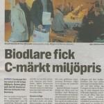 Hökensås Bigårdar mottager miljöpris