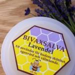 Bivaxsalva från Hökensås Bigårdars bivax